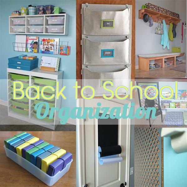 Back to school projects home decor i can do this school back to school organization - Back to school organization ...