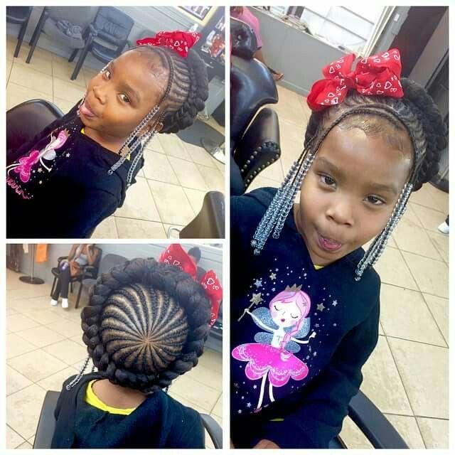 Halo Braids Braids For Kids Little Girl Braids Lil Girl Hairstyles