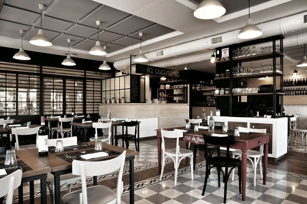Interiors La Cucineria Rome Restaurants Bars