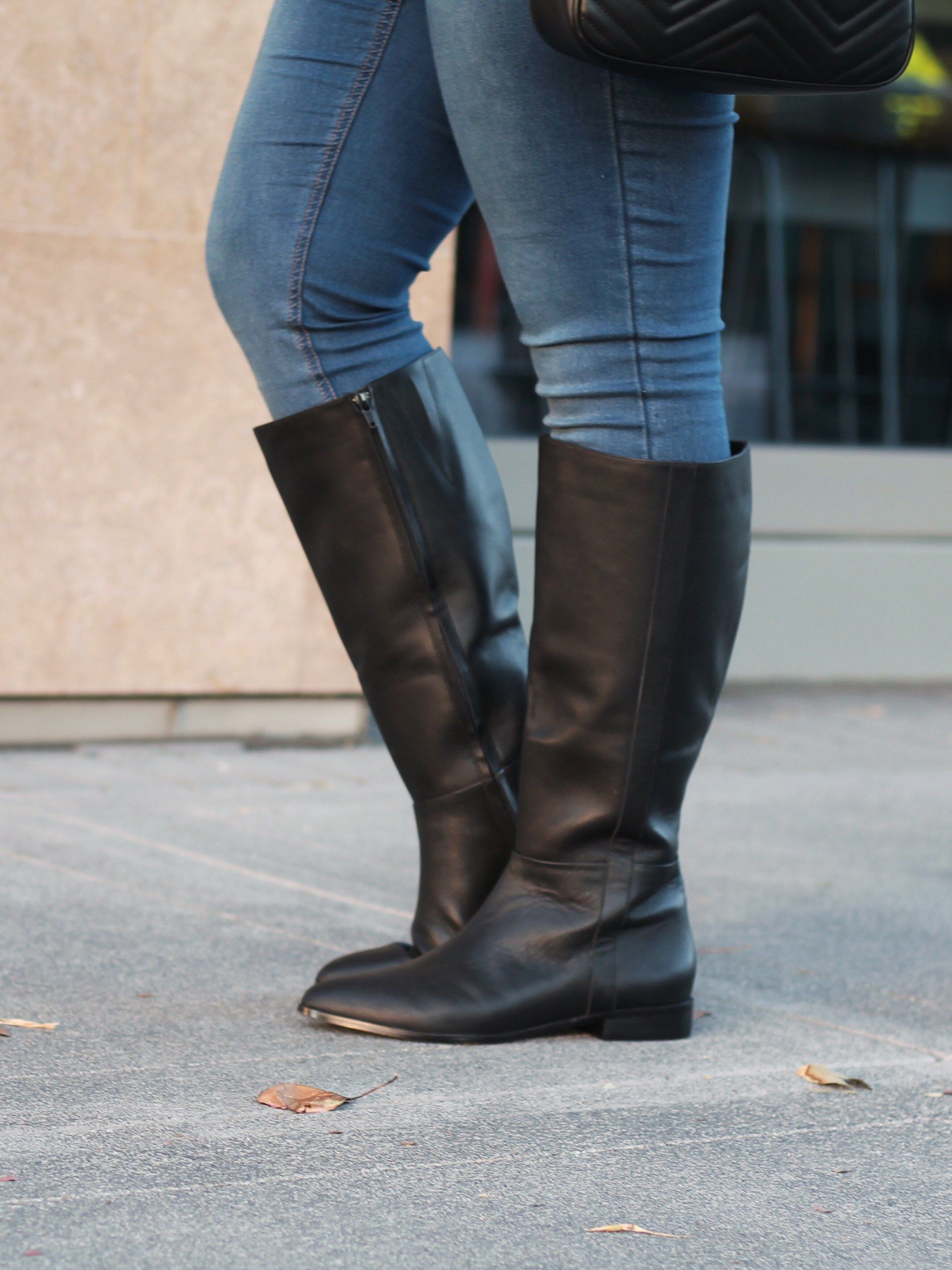 66fa3f1cc751 Holy Fit! Wide Calf Boots for All - Rose Gold Lining