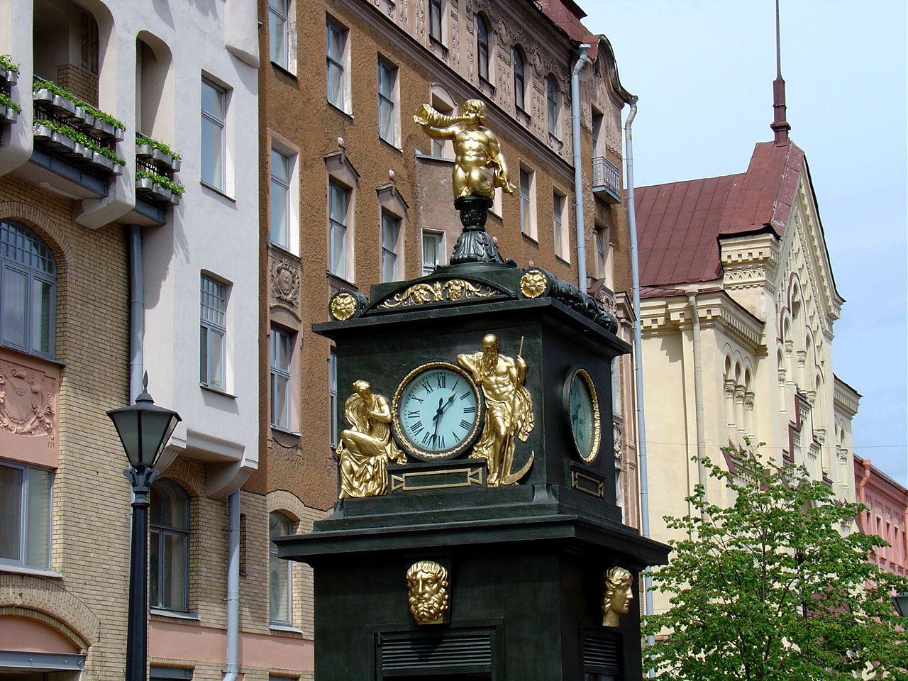 картинки городские часы суп пять