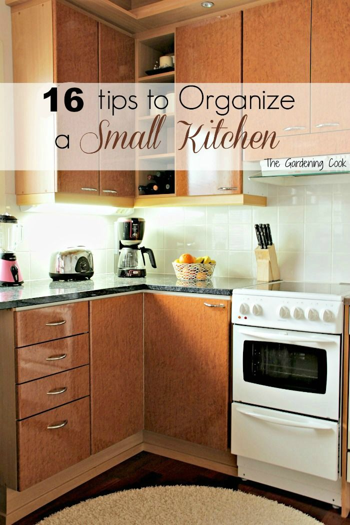 organization tips for small kitchens house ideas pinterest rh pinterest com