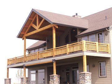 Vaulted Porch Roof Designs 2011 Montana Timber