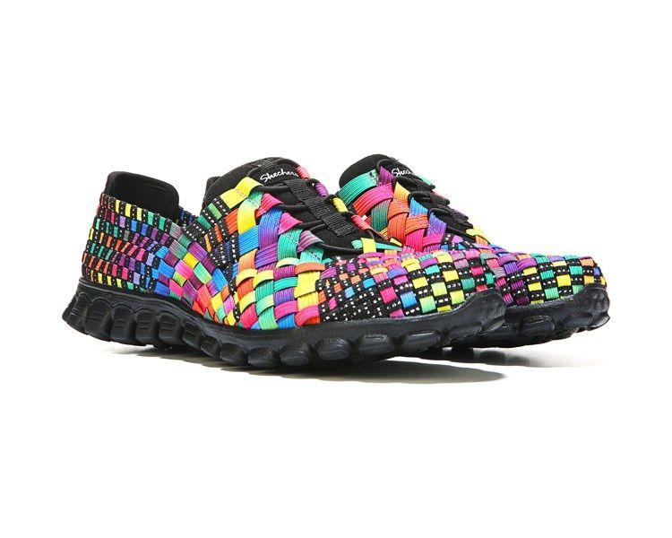 b7b5b396ce41 Skechers Tada Memory Foam Sneaker Black Multi