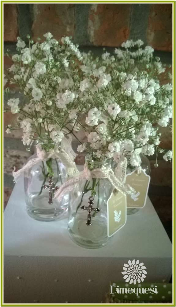Rustic first communion party ideas