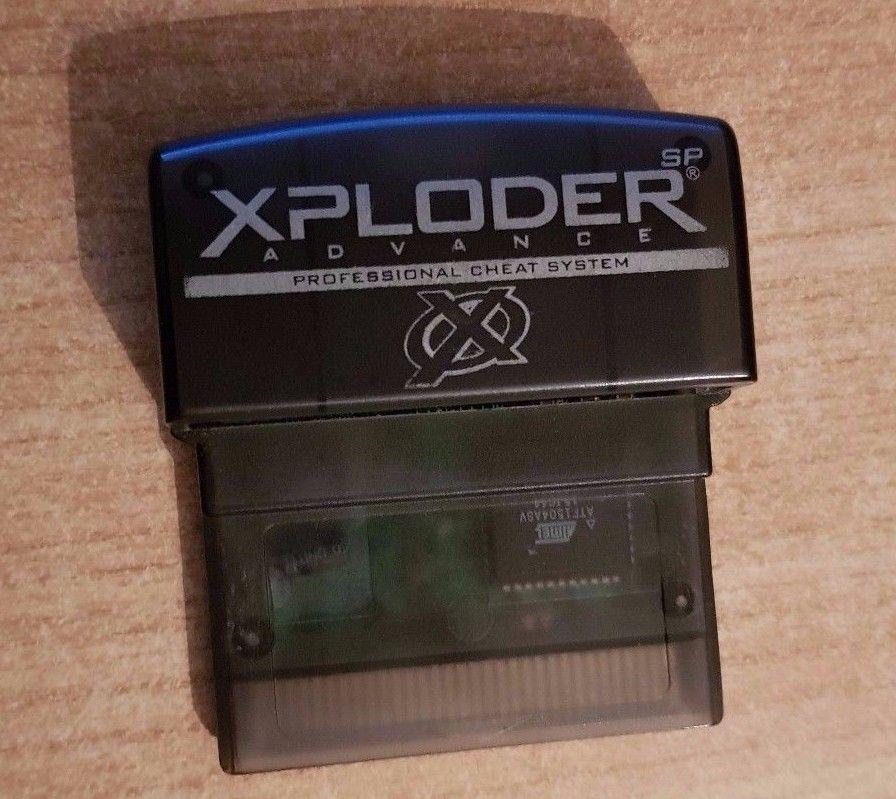 xploder game boy advance sp