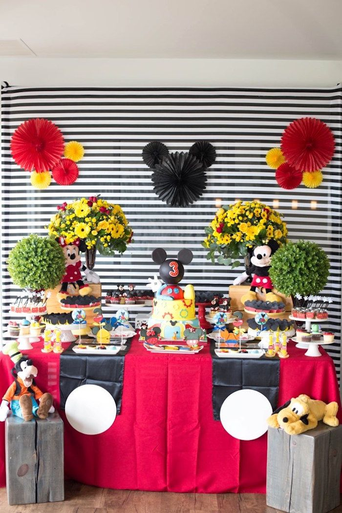 Mickey Mouse Clubhouse Birthday Party Mickey mouse clubhouse - mickey mouse boy birthday party ideas