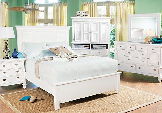 Shop For A Belmar White 5 Pc Queen Bedroom At Rooms To Go Find Bedroom Sets That Will L Cheap Bedroom Sets King Size Bedroom Sets Bedroom Sets Furniture King