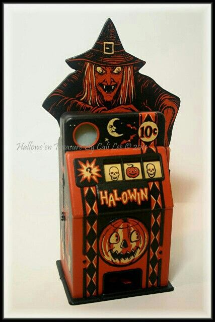 Witchy Woman Halowin Machine by Cali Lee