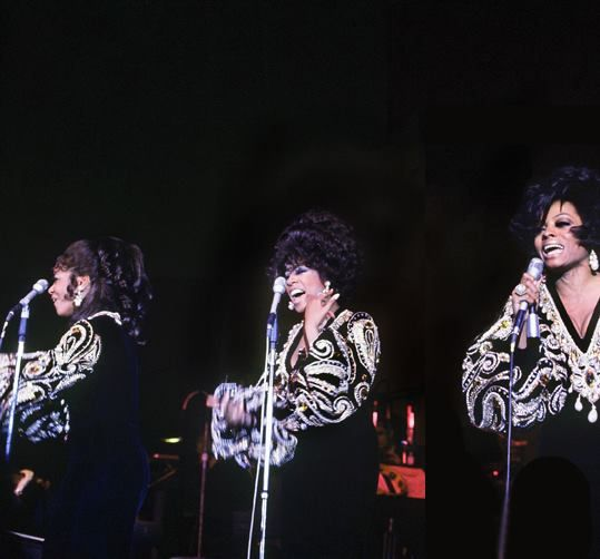 The Supremes By The End Of The Farewell Performance Diana Ross Diana Mary Wilson