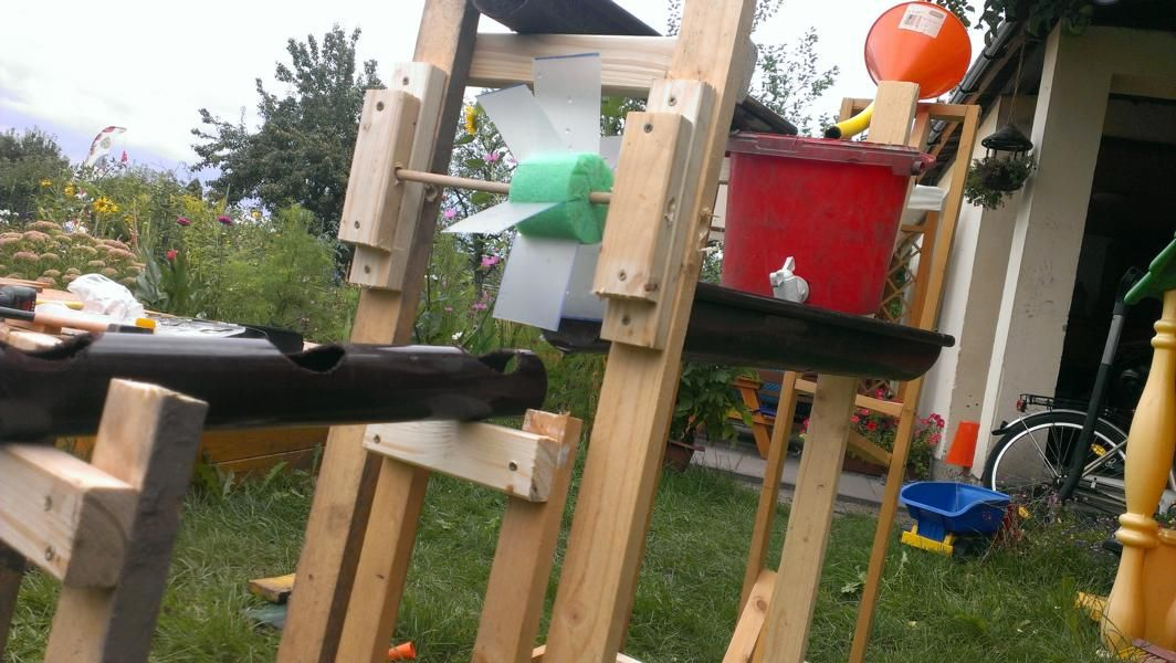 Aus Resten Entsteht Ein Wasserspiel Bauanleitung Zum Selber Bauen