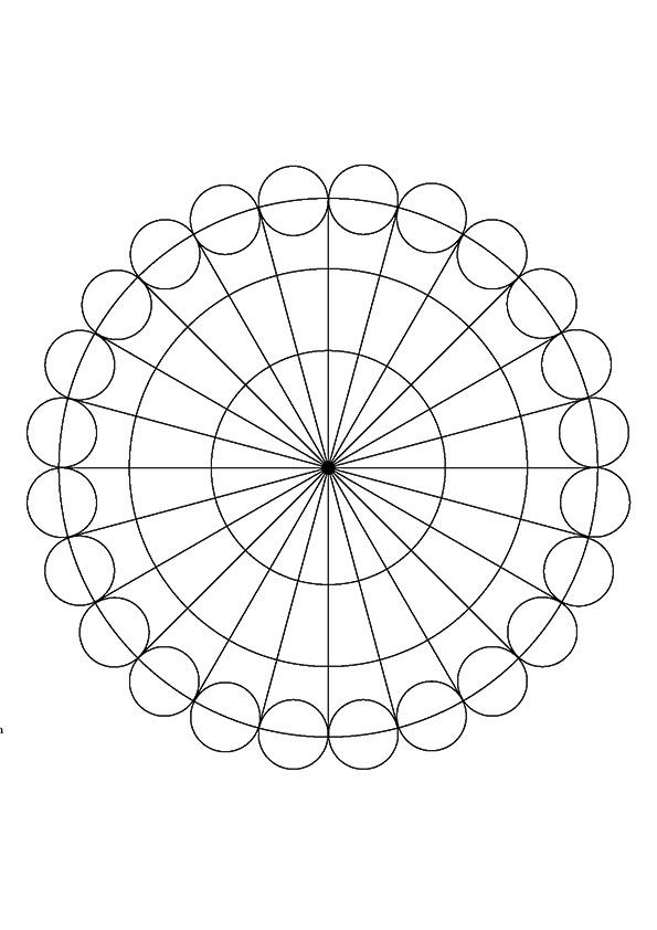 top 25 circle coloring pages for your toddler