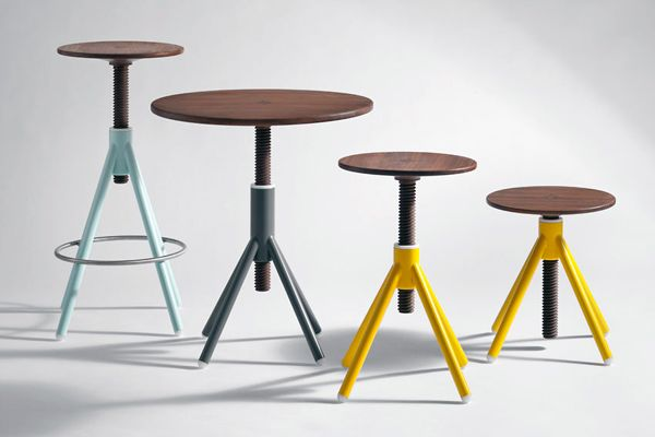 A Spin on the Stool
