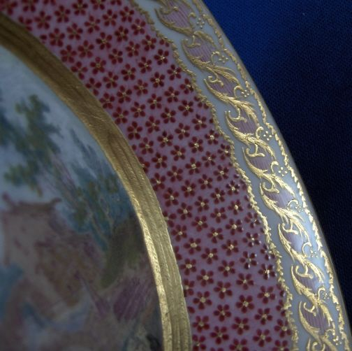 Sevres Scenic Saucer 1