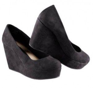 zapatos mujer hm plataforma negros