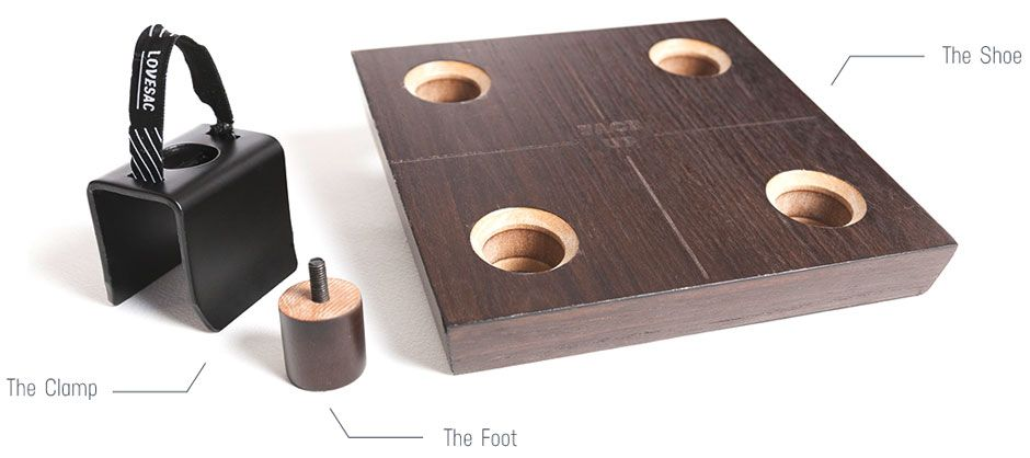 The Clamp Foot Shoe With