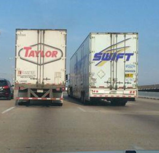 Taylor Swift Trucks Funny Coincidences Coincidences Funny
