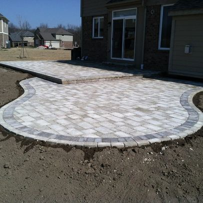 Best 25 paver patio designs ideas on pinterest backyard patio patio design and stone patio - Paver designs for backyard ...