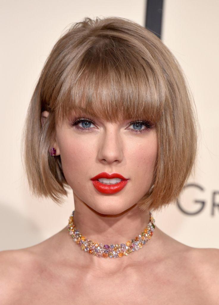 Short Hairstyles With Blonde Highlights 9 Jpg 736 1027 Taylor Swift Haircut Short Bob Hairstyles Bobs Haircuts