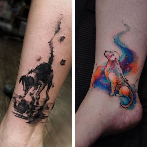 101 Best Dog Tattoo Ideas That Show Your Dog Love - Fidose of Reality