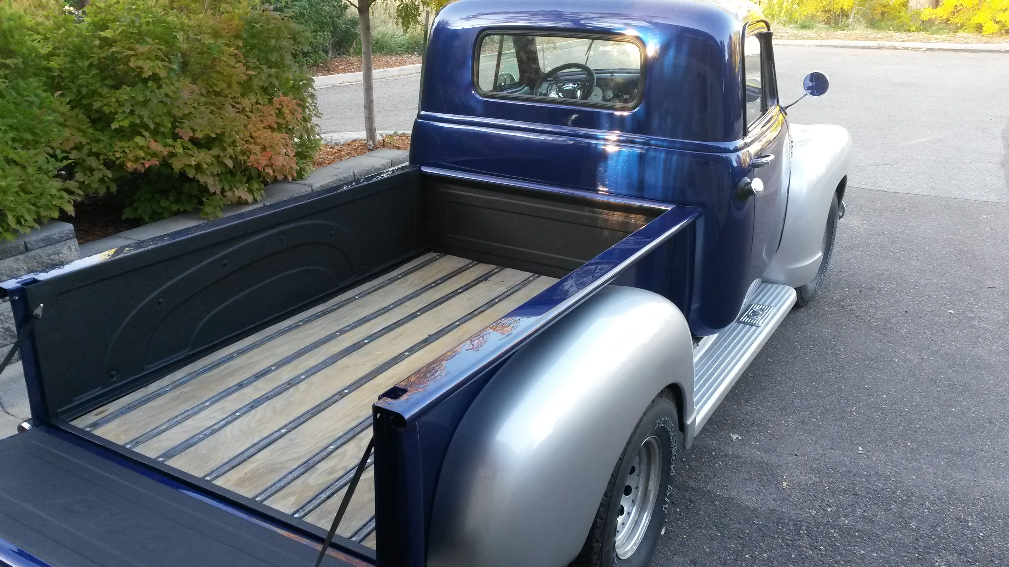 Line X And Wood This Truck Bed Is Beautiful And Durable And It S One Awesome Step Side Regardless