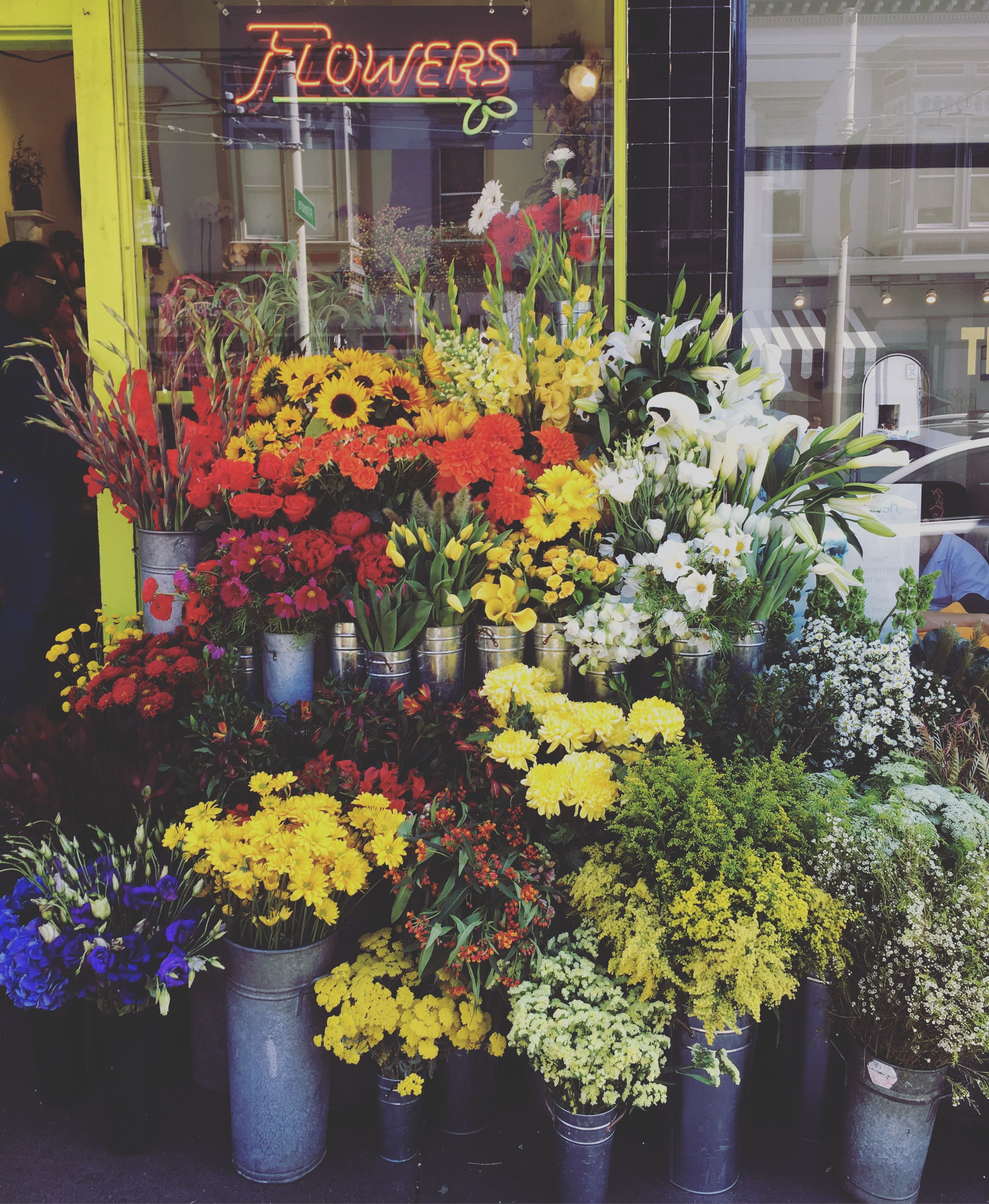 Stop and smell the roses and peonies and sunflowers at san stop and smell the roses and peonies and sunflowers at san franciscos colorful local izmirmasajfo