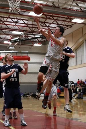 Tanner Bouchard Has Stepped Onto The Silver Lake Varsity Basketball Team And Played Very Well This Season High School Sports Lake Silver Lake