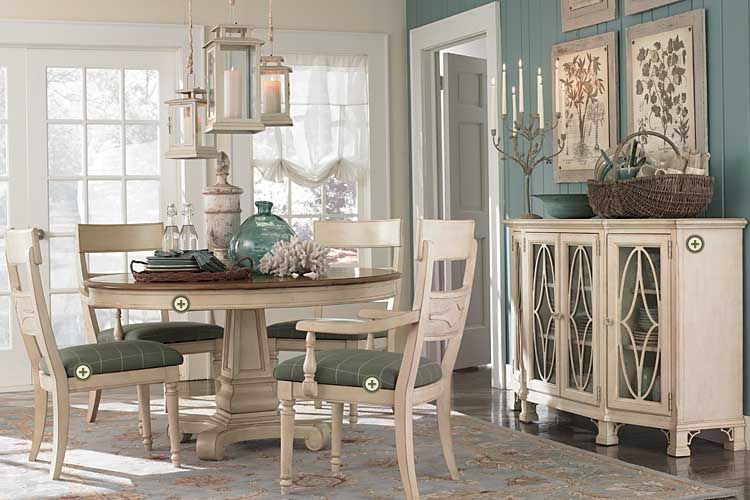 Dining Room Beachy Casual But Sophisticated Inhabit Me