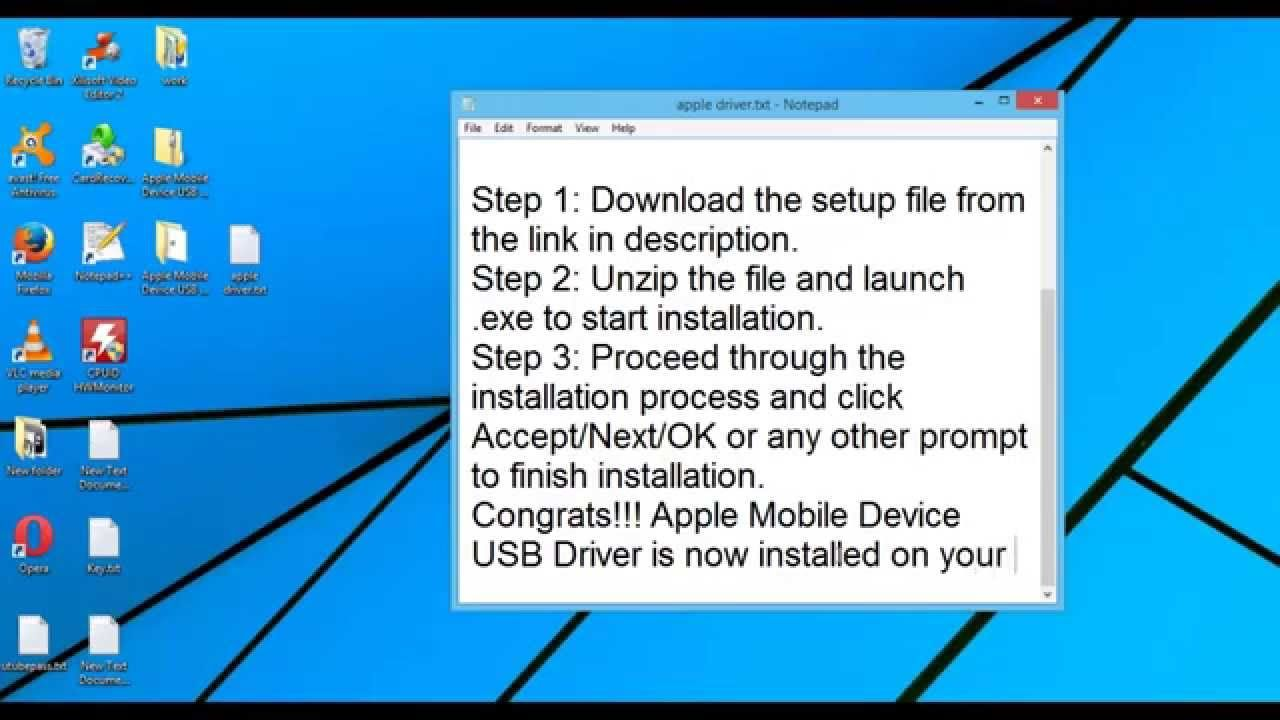 Apple Mobile Device USB Driver Download| Windows | Latest