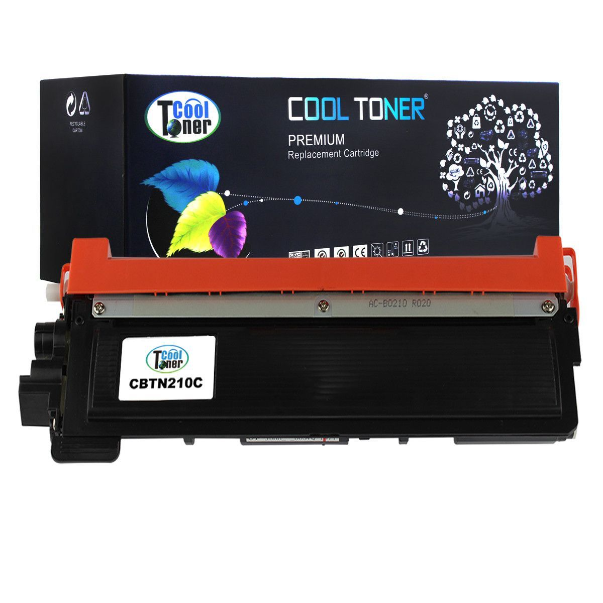 Cool Toner Compatible Toner Cartridge CT-TN210C(TN210C)for Brother HL-3040CN/3070CW