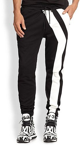 Y 3 Y Striped Track Pants Mens Pants Fashion Mens Outfits Mens Sportswear