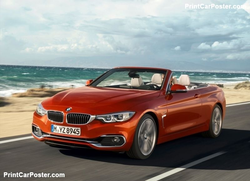 Bmw 4 Series Convertible 2018 Poster In 2020 Ford Mustang Shelby Gt500 Ford Mustang Shelby Bmw