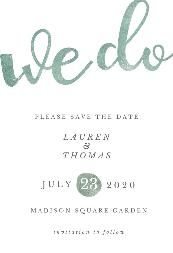 We Do Save The Date Card Template Free Greetings Island Save The Date Cards Save The Date Card Templates Free