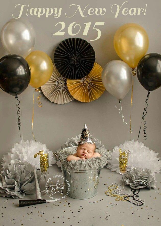 Newborn And New Years Eve Baby Holiday Pictures Holiday Baby Pictures Baby Pictures