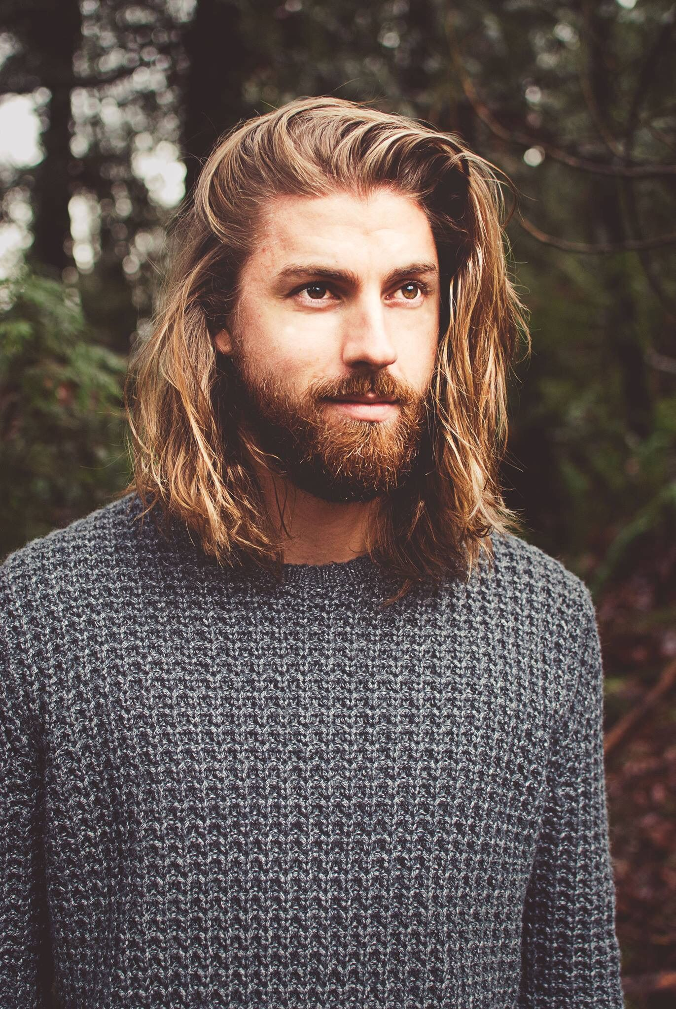 Delicious Men With Long Hair And A Beard Long Hair Styles Men Beard Model Men S Long Hairstyles