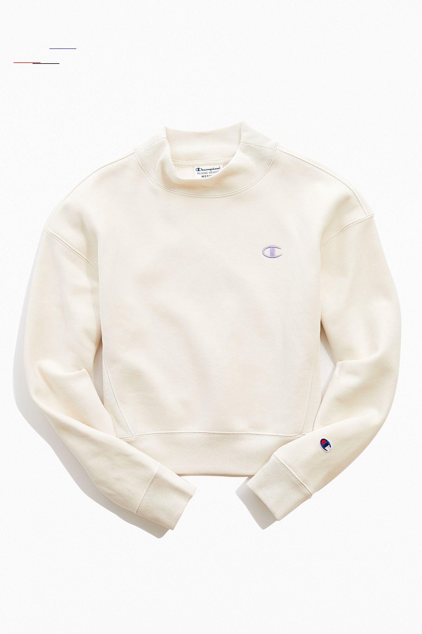 Champion Sweatshirt Damen Beige | Damen sweatshirts