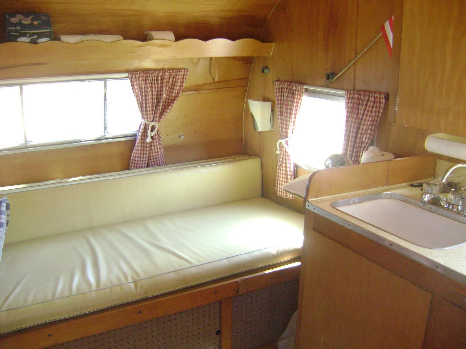 Glamping Trailers Inside