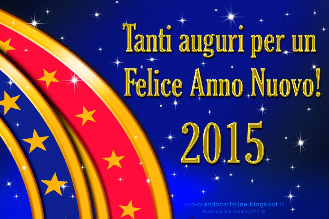 felice anno nuovo 2015 -