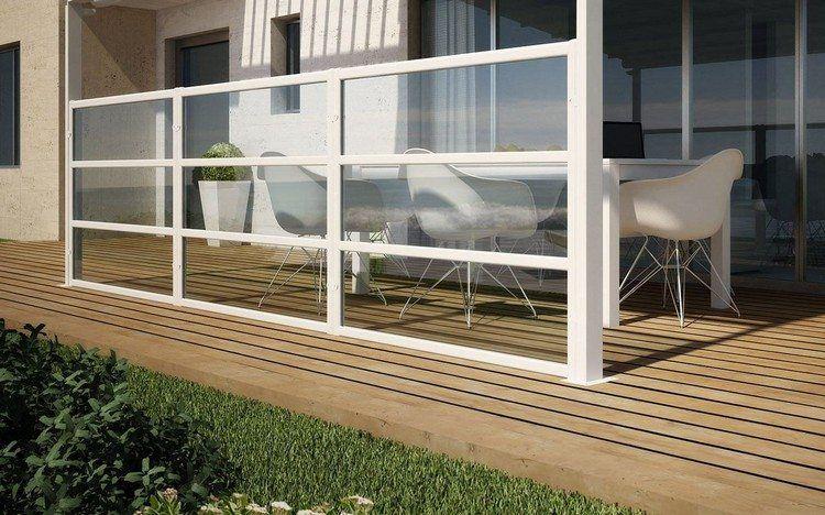 Brise Vent Pour Terrasse Et Balcon 20 Idees Et Conseils Utiles Terrasse Verre Terrasse Terrasse Vitree