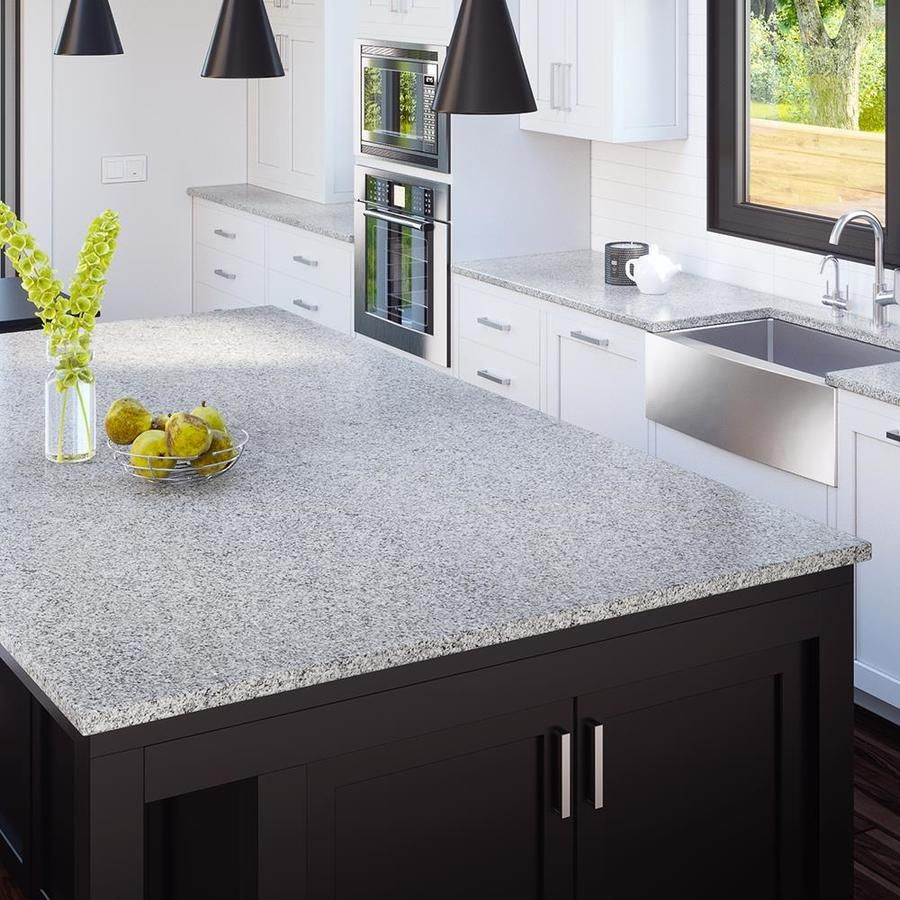 Allen Roth Roaming Mist Granite Kitchen Countertop Sample At