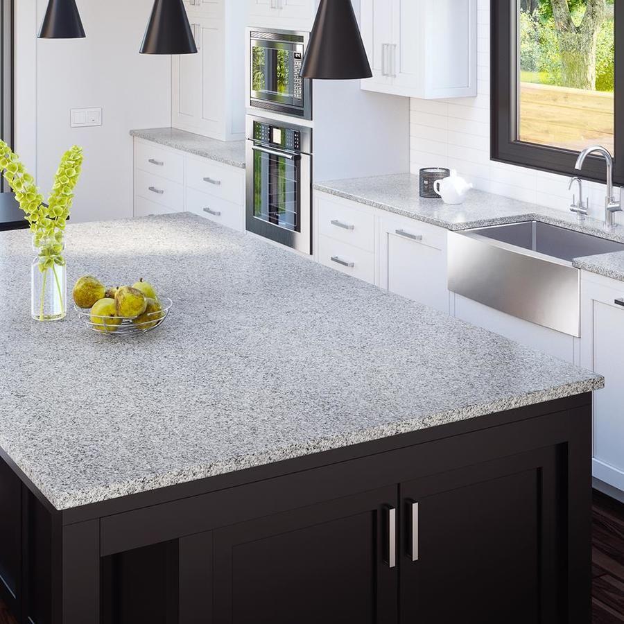 Allen + roth Roaming Mist Granite Kitchen Countertop