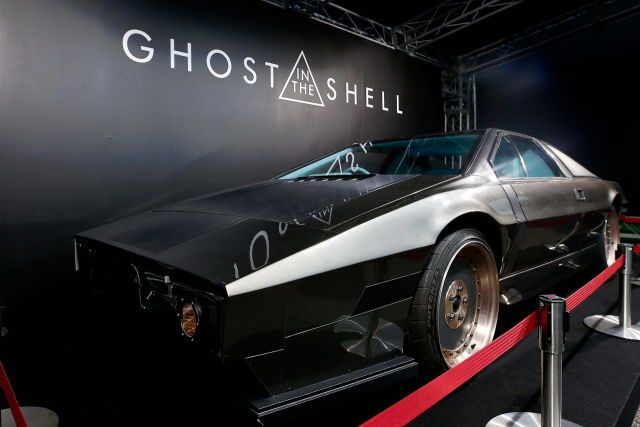Batou S Car Ghost In The Shell