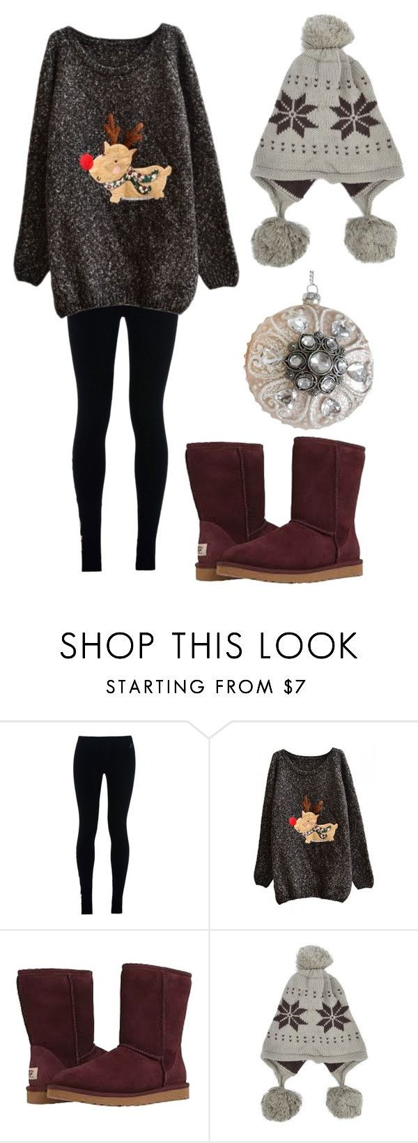 """""""Untitled #685"""" by sarahlavelle8 ❤ liked on Polyvore featuring NIKE and UGG Australia"""