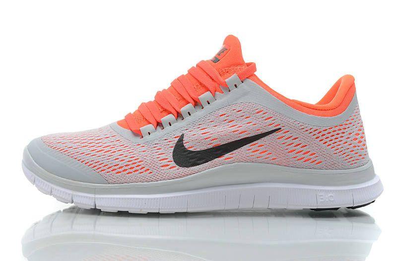 Nike Free Run Marine Fond Jaune