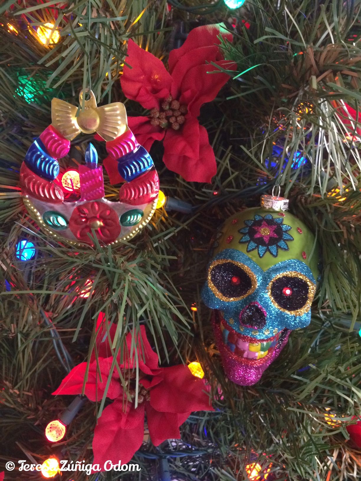 sugar skull christmas tree - Google Search | Sugar Skull Christmas ...