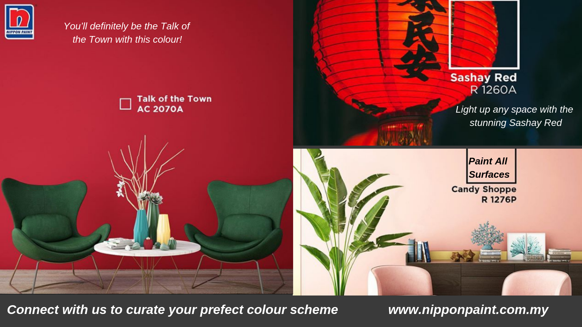 Pick the best colour for your space from Nippon Paint Colour ...