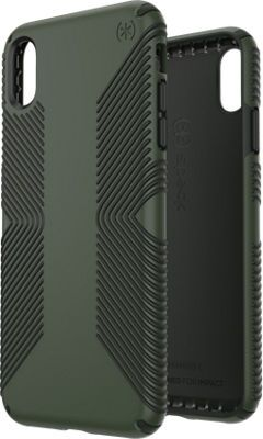 check out 04746 a0e08 Speck Presidio Grip Case for iPhone XS Max, Dusty Green/Brunswick ...