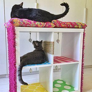 Diy Cat House Cardboard Diy Cat House Outdoor Diy Cat House T Shirt Indoor Cat House Plans How To Make A Ca Cardboard Cat House Cat House Diy Diy Cat Tower