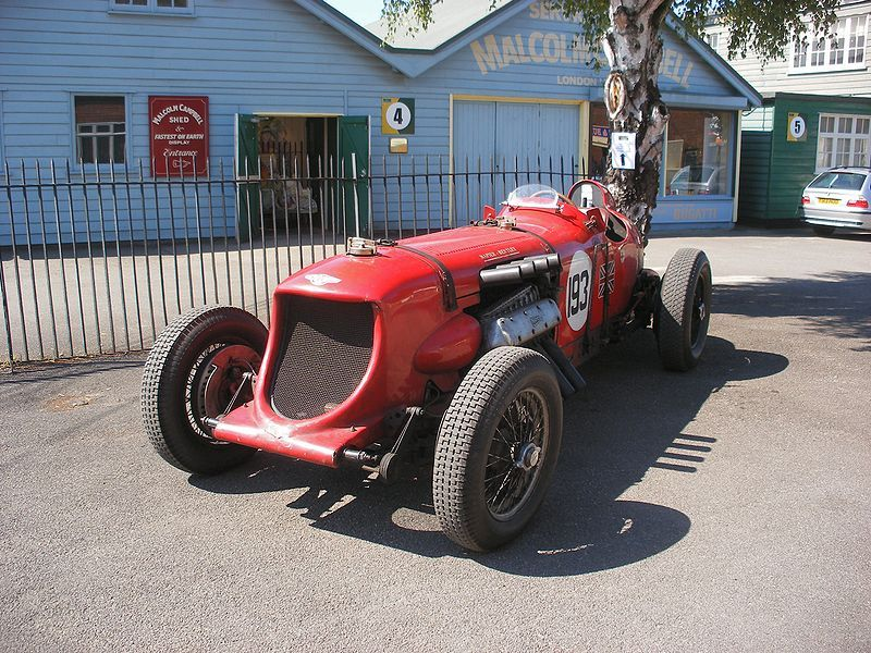 old RACE cars   Things I Like, Part 2 – Old Cars Being Spanked ...