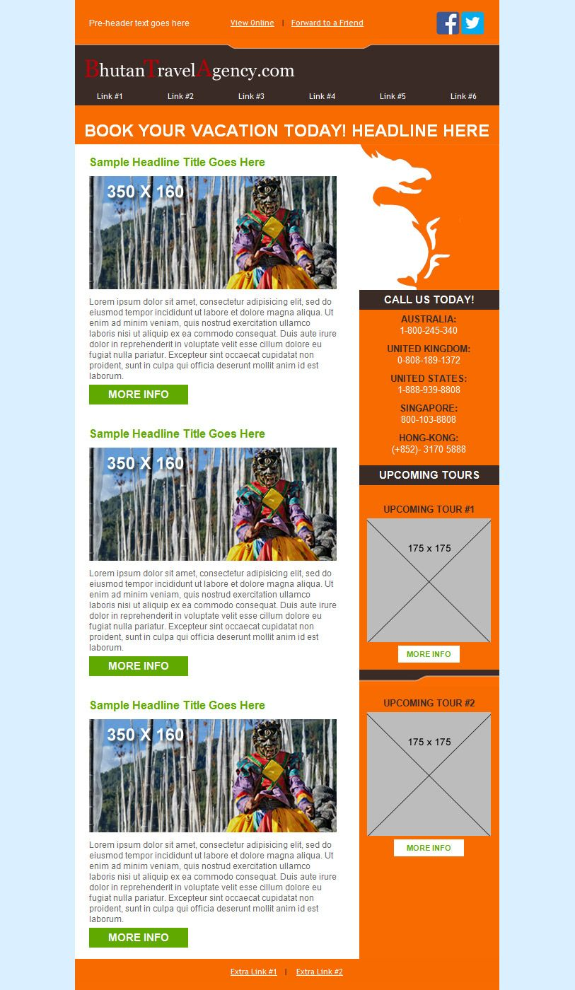 iContact Design Services custom template. | Design Services Custom ...